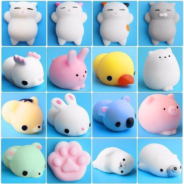 Антистресс-игрушка Funny joy  снимет напряжение (15 вариантов)