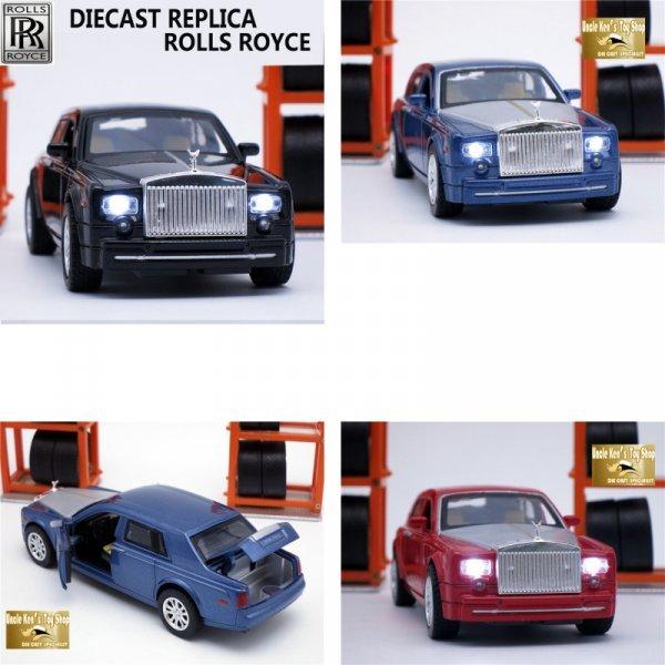 Машинка Rolls-Royce со звуком и светом в твой автопарк (1:32)