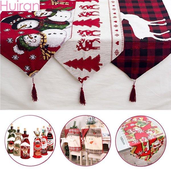 Новогодний текстиль для стола (44 вида)