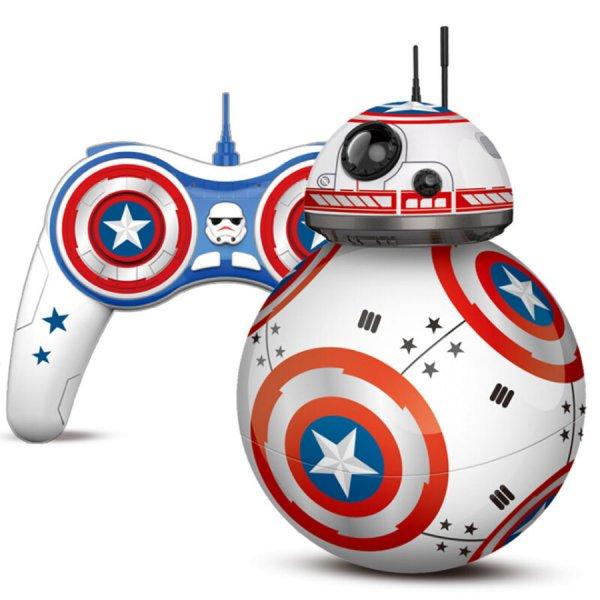 Чумовой робот- мяч из Звездных войнов RC 298-26
