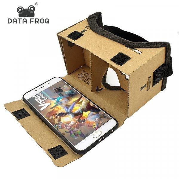 Картонные очки для смартфона от DATD FROG