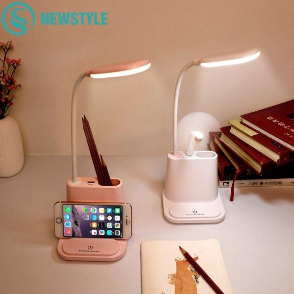 Лампа с органайзером и USB Newstyle (3 цвета)
