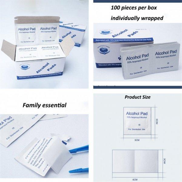 Антибактериальные салфетки (100 шт)