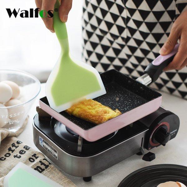 Широкая лопатка WALFOS  точно не испортит сковородку (2 цвета, 22.5*12 см)
