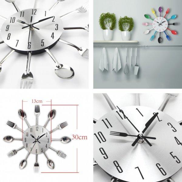 Настенные часы на кухню Timelike (5 видов)