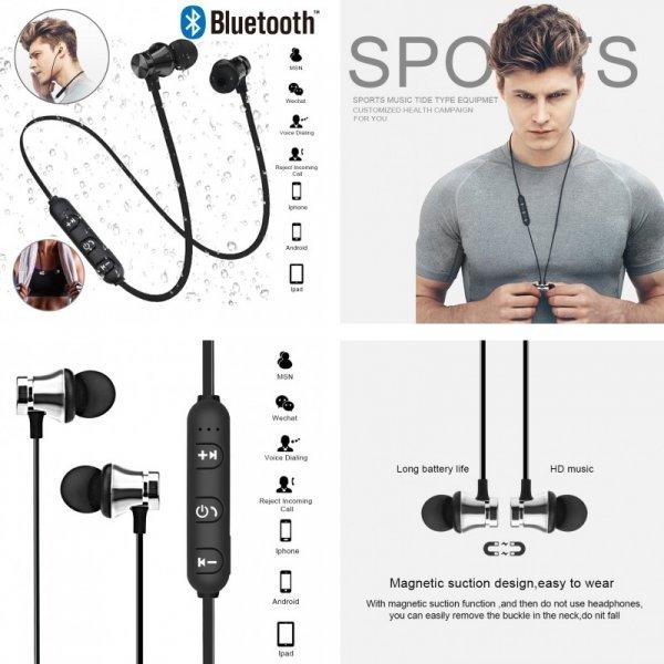 Беспроводные Bluetooth наушники для занятий спортом Teamyo (4 цвета)