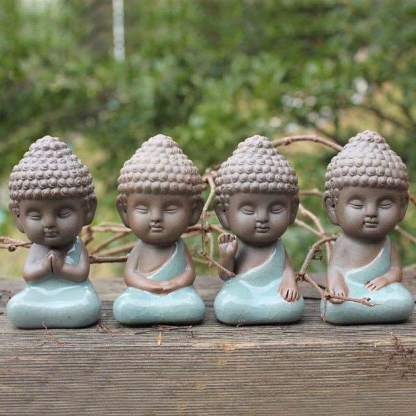 Статуэтка Будда для гостиной или сада (9*4*3.5 см)