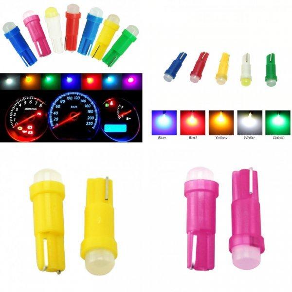 Лампа для подсветки салона авто HOLLKI T5 ( 5 цветов)