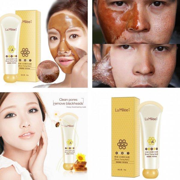 Очищающая медовая маска для кожи  La Milee