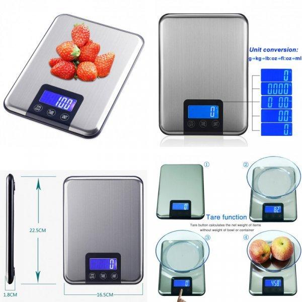 Кухонные весы CHANGXIE (до 15 кг)