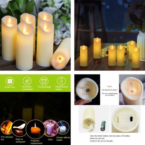 Светодиодные свечи (3,6 шт)
