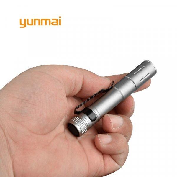 Карманный фонарик Yunmai (2 цвета)
