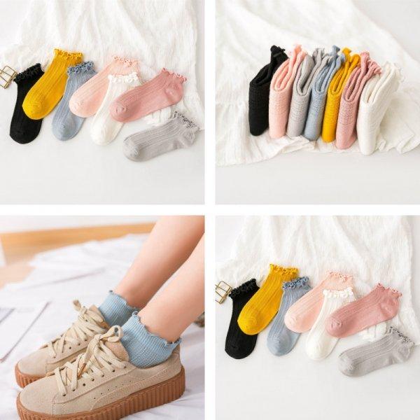 Женские носки из хлопка (7 цветов)