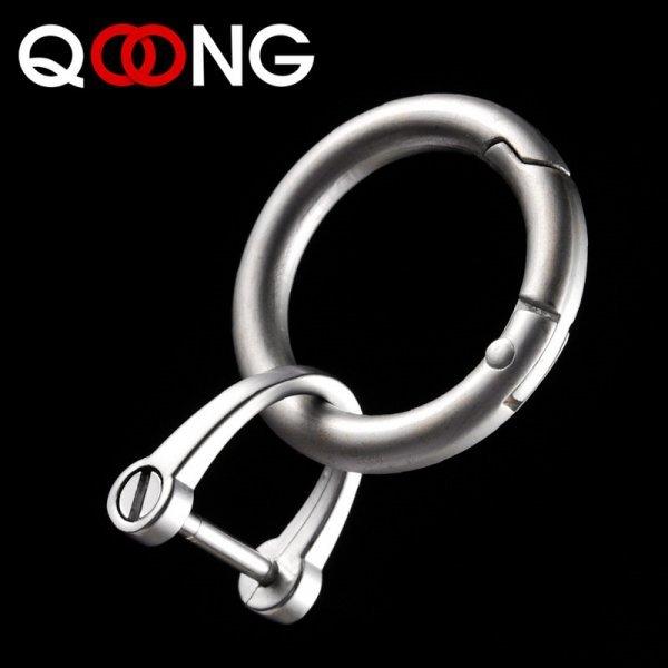 Шикарный брелок с ремешком для ключей авто QOONG