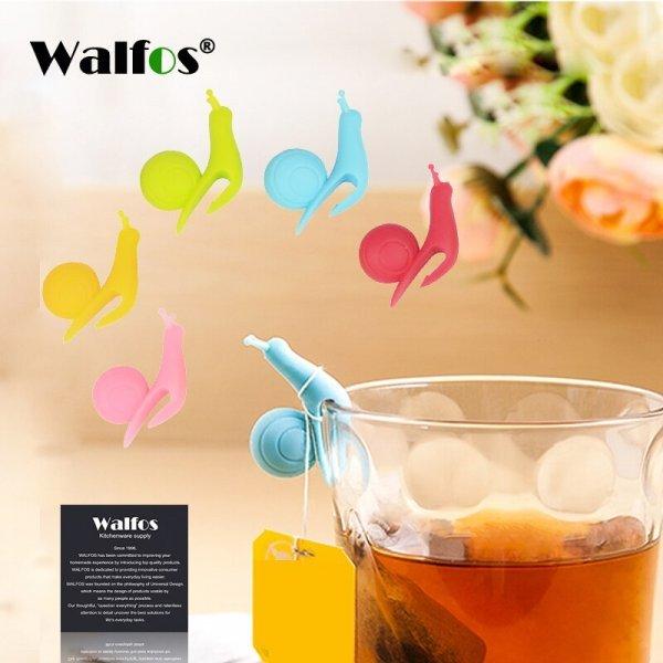 Держатель для чайного пакетика Улитки (3 шт)