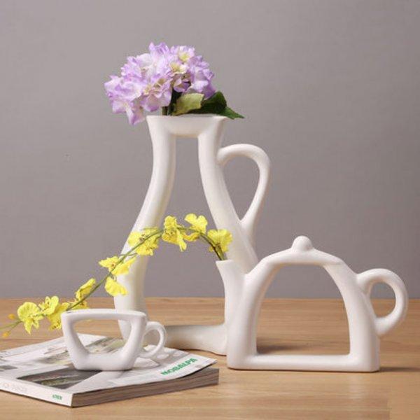 Шикарная ваза Чайник для кухни  (30*20*7.5 см)