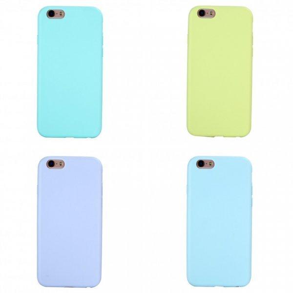 Силиконовый чехол для смартфона iPhone (9 цветов, 11 видов)