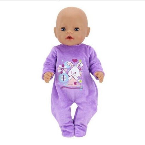 Комбинезон для куклы LADAVOYA (43 см, 4 цвета, 1 шт)
