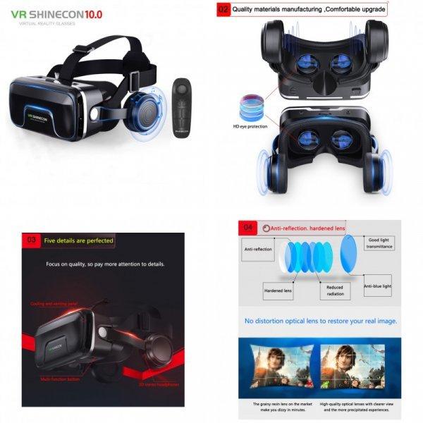 VR-очки для фильмов и игр от SINECON