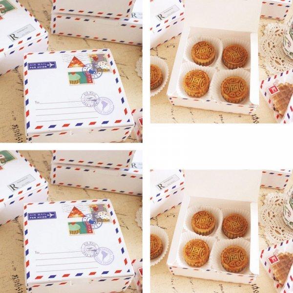 Коробка для подарка путешественнику TSbansheng  (10 шт, 14*14*5 см)